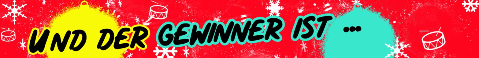 Gewinner-Banner-Webseite